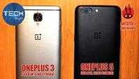 OnePlus 3 vs OnePlus 5
