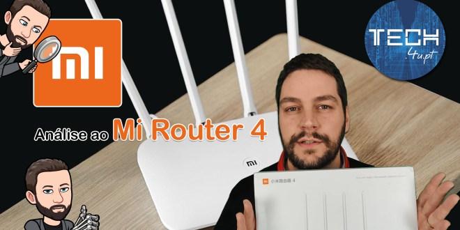 Análise ao Mi Router 4
