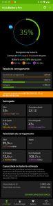 AccuBattery - Estatísticas