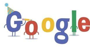 google - aniversário