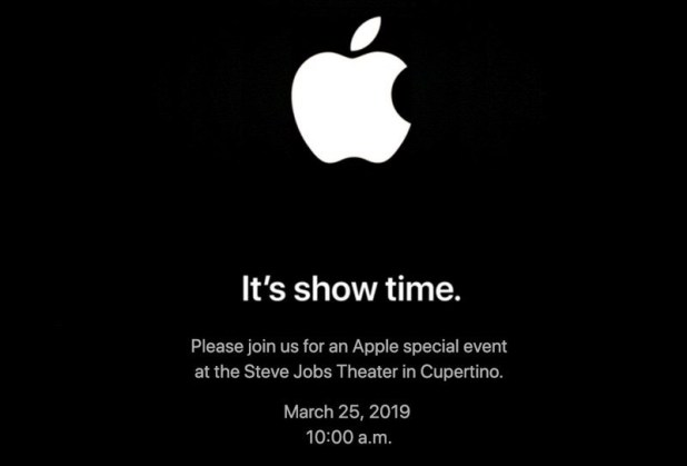 Apple - It's show time 2019