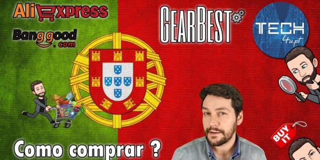 Gearbest, Banggood, Aliexpress Portugal