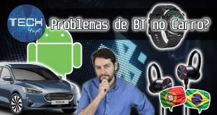 Problema de bluetooth no carro