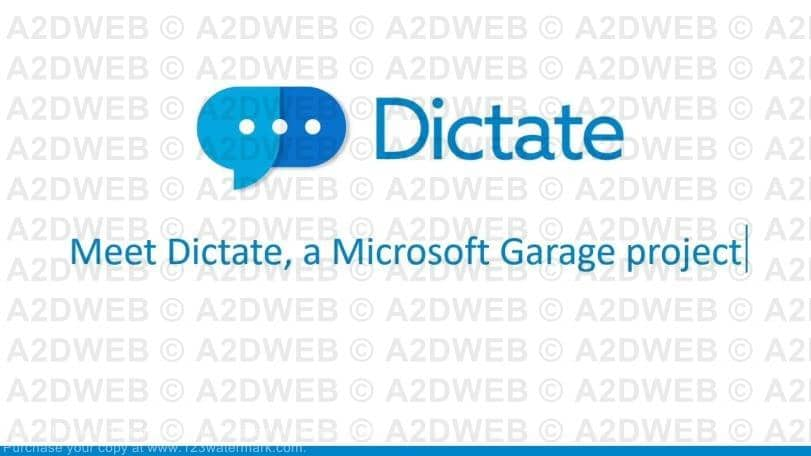 microsoft-dictate