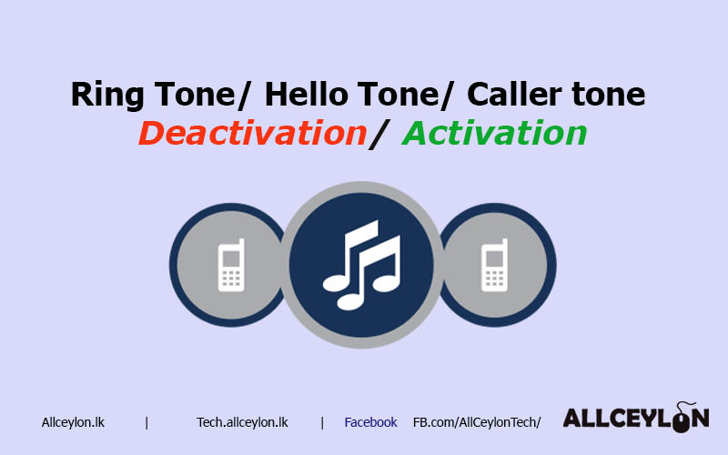 Activation / Deactivation caller tone ,Ring in tone ,hello,welcome tune