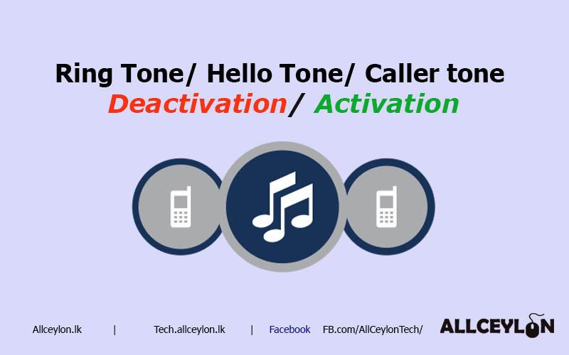 Activation / Deactivation caller tone ,Ring in tone ,hello