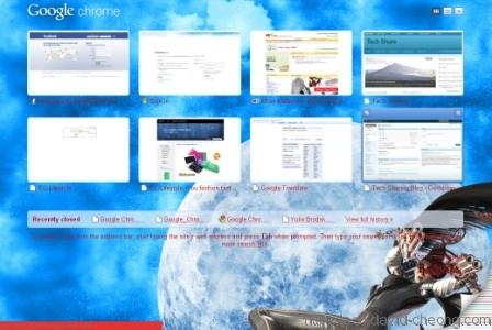 Google Chrome - Bayonetta