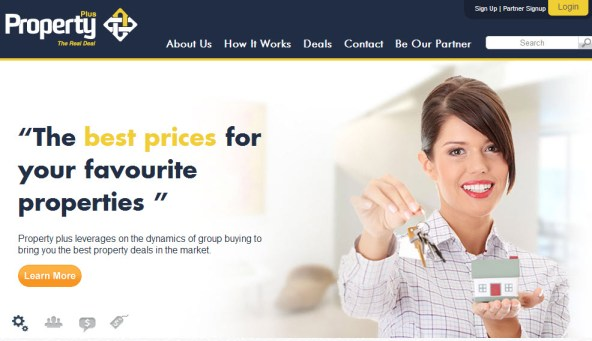 Property Plus Home Page
