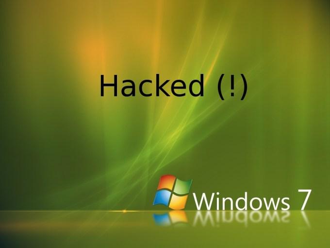 Hack registry Windows