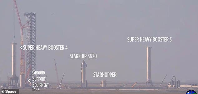 Tallest rocket in the world