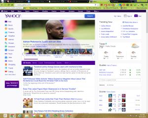 Yahoo! With AdBlock