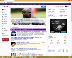 Yahoo! Without AdBlock