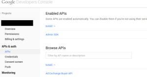 Admin SDK API