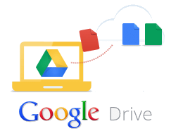 Google Drive Graphic with logo