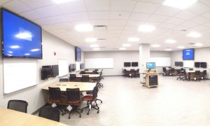 MSU Rooms for Engaged and Active Learning classroom