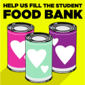 help us fill the student food bank