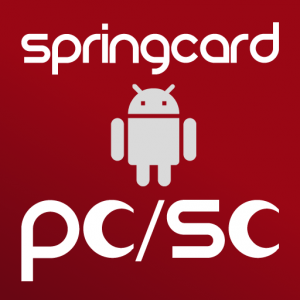 Icon of the SpringCard PC/SC Service for Android