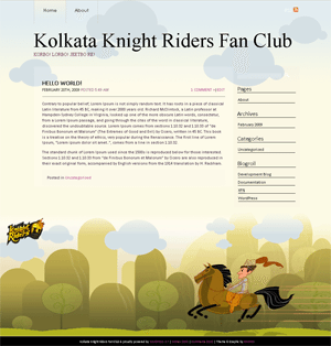 KKR Kidsrock WordPress Theme