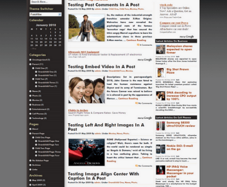 FutuVibe WordPress Theme