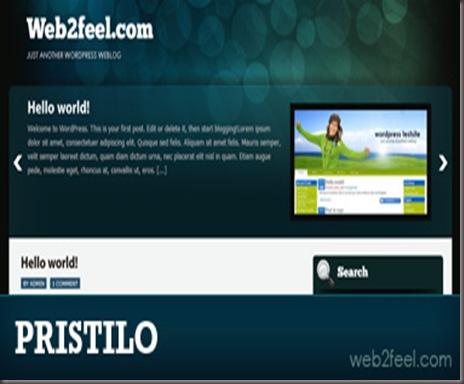 Pristilo WordPress Theme