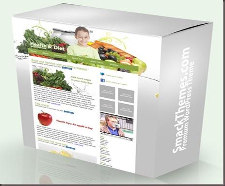 Smack Diet WordPress Theme