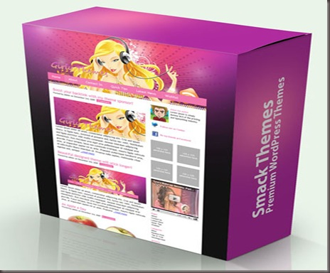 Smack Girly WordPress Theme