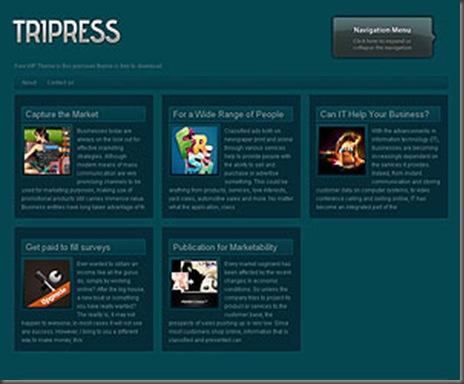 Tripress WordPress Theme