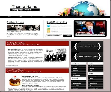 U-Space WordPress Theme