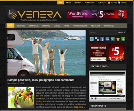 Venera WordPress Theme