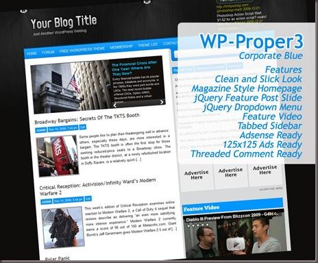 Wp-Proper3 WordPress Theme
