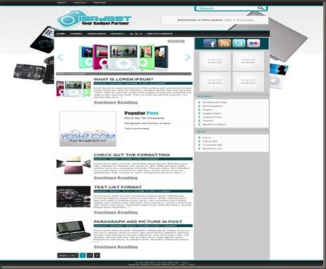 iGadget WordPress Theme
