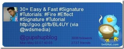 Twitter Signature 400x150