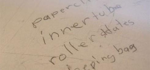 Random-writing