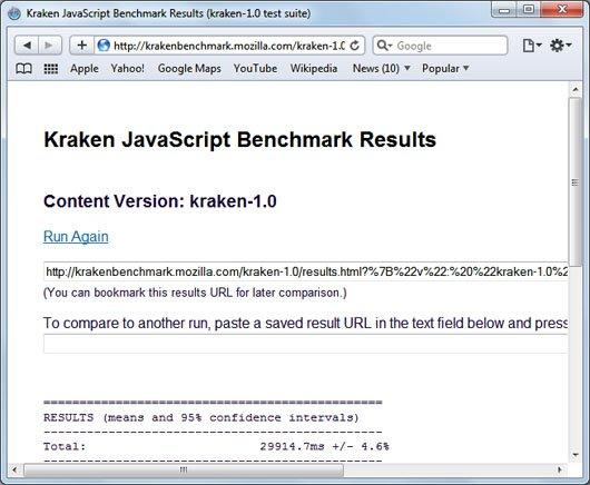 Safari 5 kraken javascript benchmark