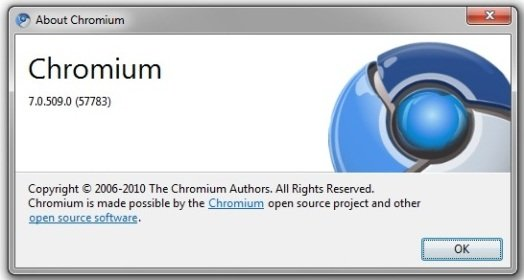 google chrome 7.0.509