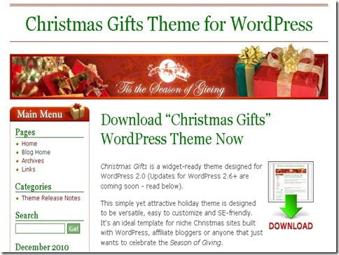5_Christmas_Gifts_WordPress_Theme