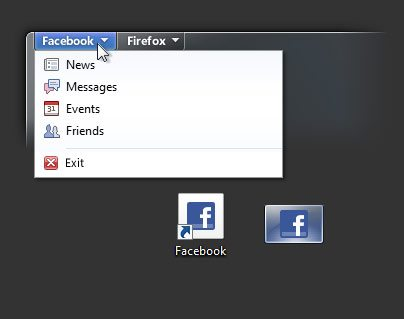 Firefox 5 Facebook Tab