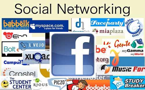 facebook no.1 social networking site