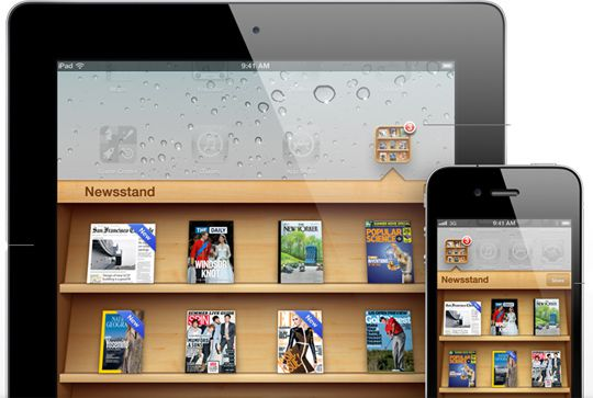 ios 5 features newsstand folder