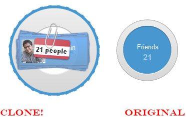 google+ original and clone circle