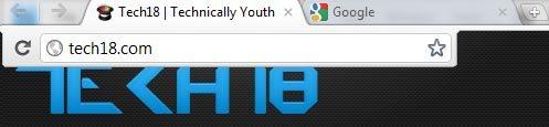 google chrome new url address/ location bar