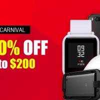Xiaomi karnevál a Geekbuying oldalán