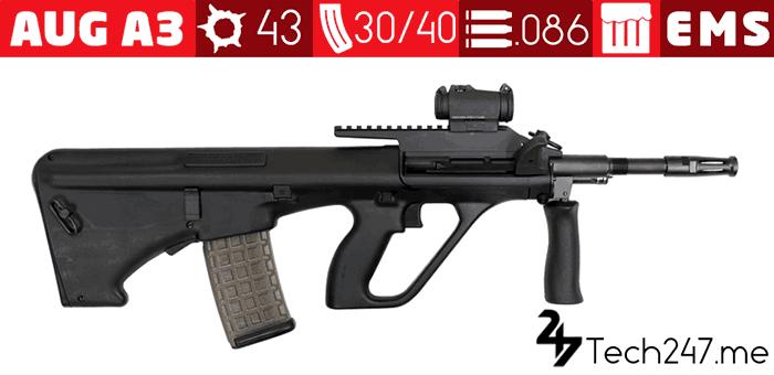 سلاح AUG A3 في لعبة ببجي - لعبة PUBG