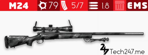 سلاح M24 في لعبة ببجي – لعبة PUBG