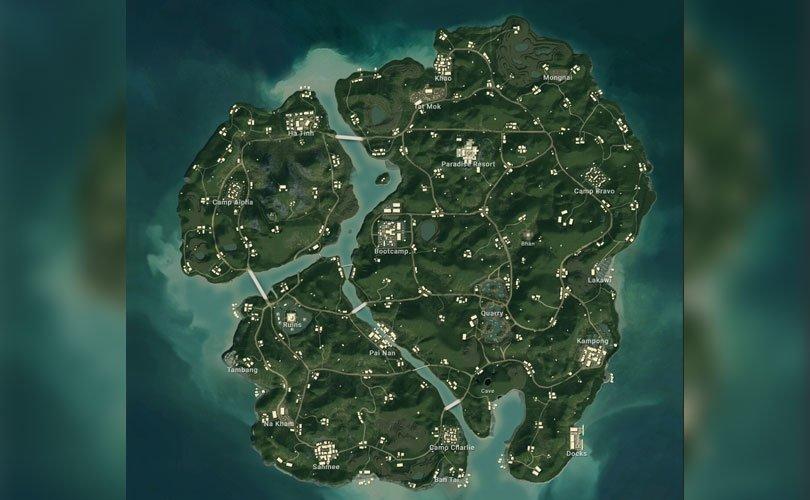خريطة Sanhok في لعبة ببجي - لعبة PUBG
