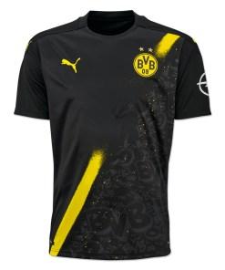 Borussia Dortmund Football Jersey with Shorts 2020-21