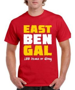 East Bengal 100 Years of Glory Red T-Shirt