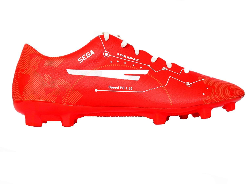 Sega Mark Red Football Shoes - Tech2Sports