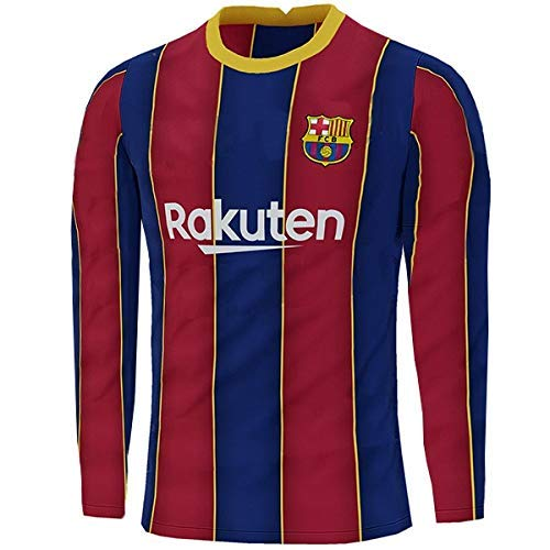 Barcelona Full Sleeve Home Jersey With Shorts 2020-21