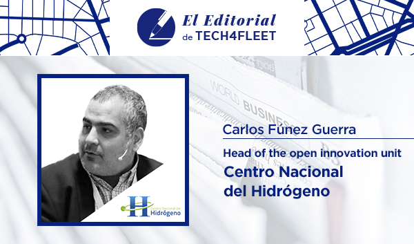 Artículo opinión Carlos Fúnez del Centro Nacional de Hidrógeno
